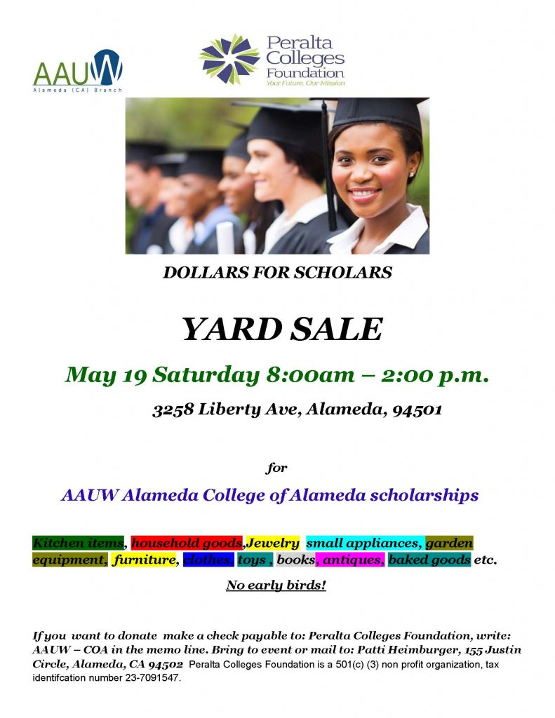 AAUW Yard Sale