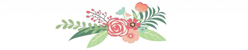Flower on flyer